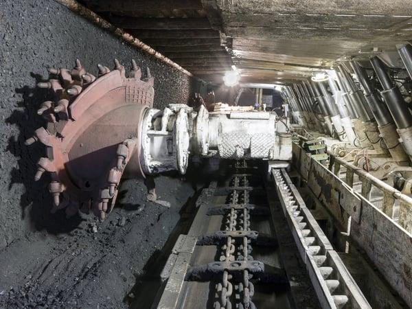 Raspadskaya Coal Mine