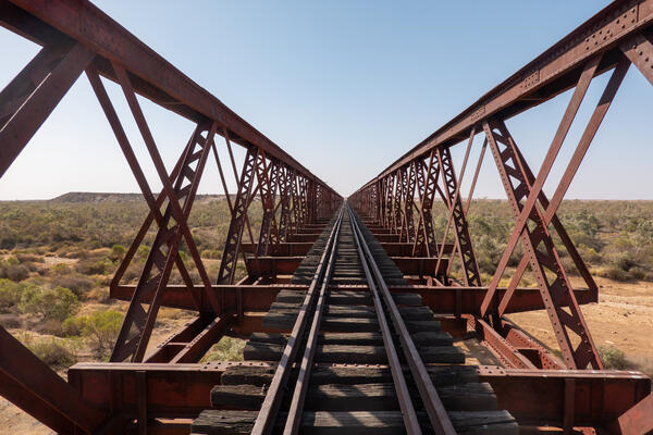 Algebuckina Bridge, 6th longest bridge in Australia