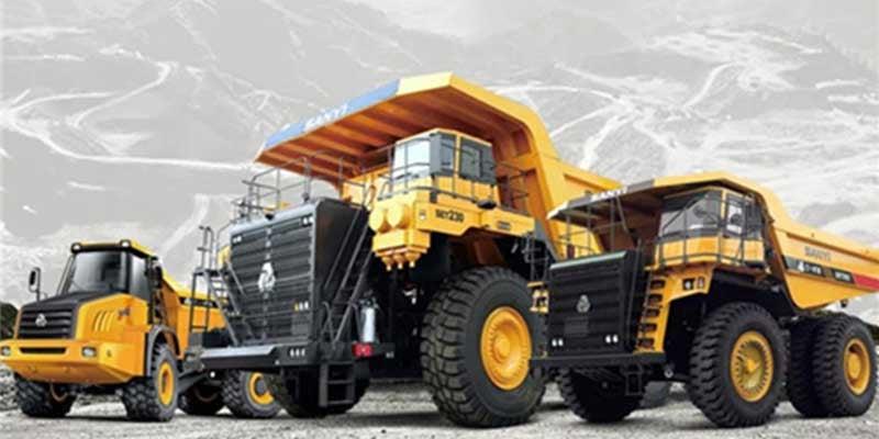 Sany-mining-trucks