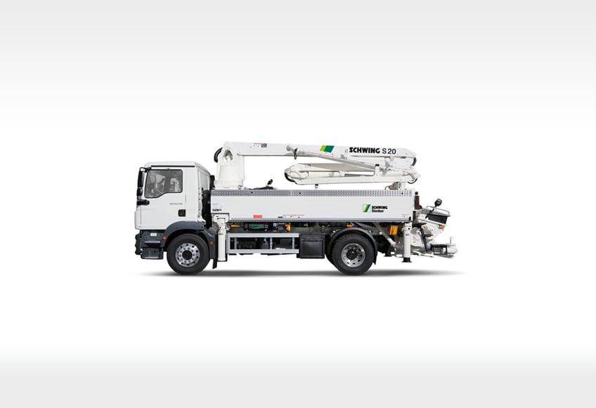 Schwing Concrete Pumps