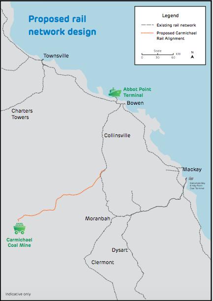 Adani-proposed-railway
