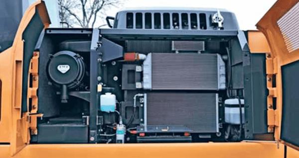 Serviceability-Case-CX210C-Excavator