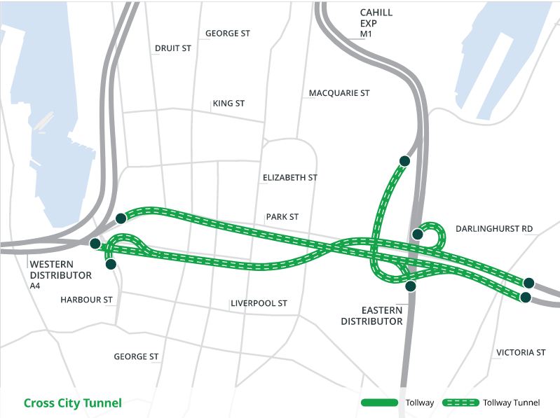 Sydney Cross City Tunnel