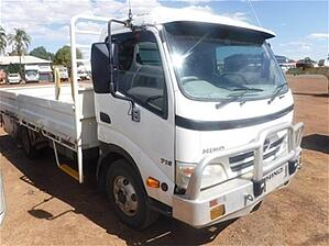 Tray Body truck wdrc qld