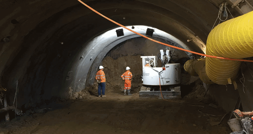 Tunnel Project in Victoria