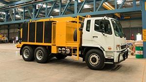 Vac truck 6000L vacuum excavation truck