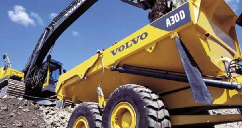 Volvo A30D Articulated Dump Truck (ADT) Review & Specs