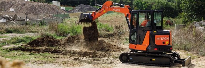 ZX55U-5A Mini Excavator