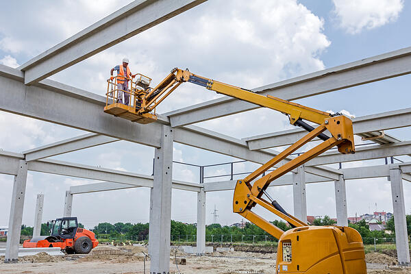 cherry-picker-construction-site