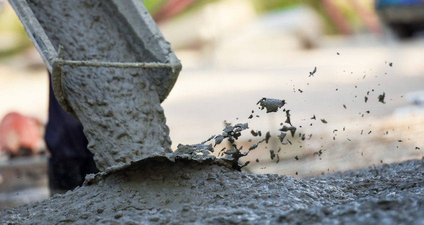 concrete-pouring