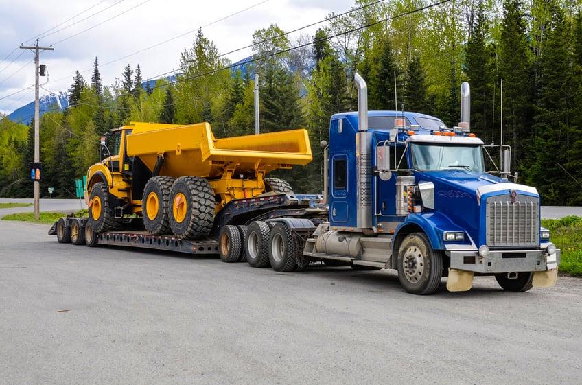 construction machine transport