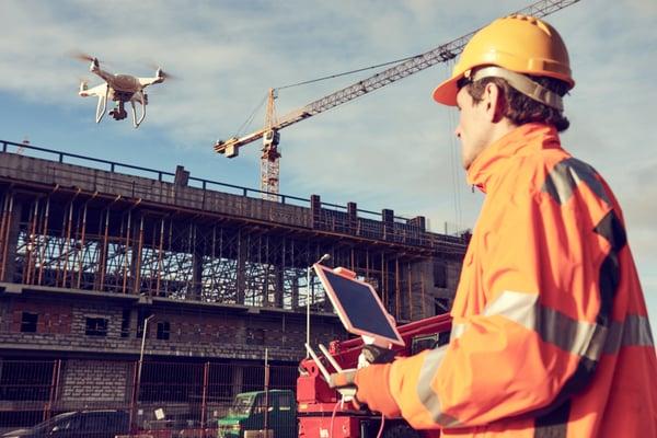 drones-in-construction