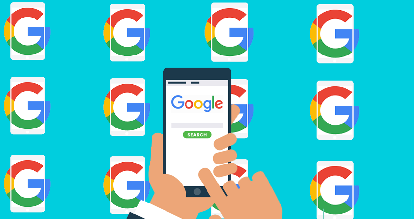 Google Logo Illustration
