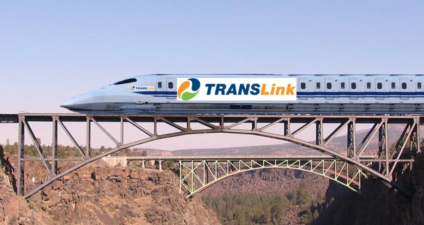 High Speed Rail Mock Graphic