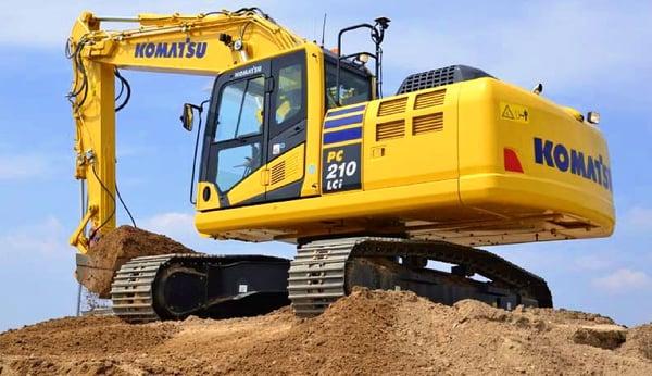 komatsu-excavator