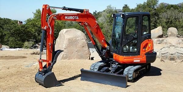 kubota-excavator