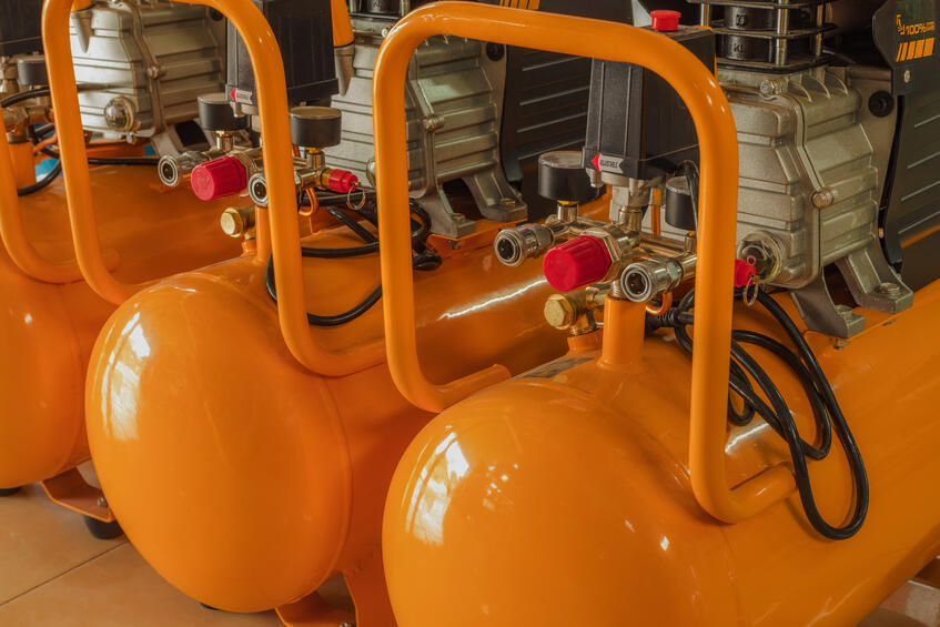 orange-air-compressors