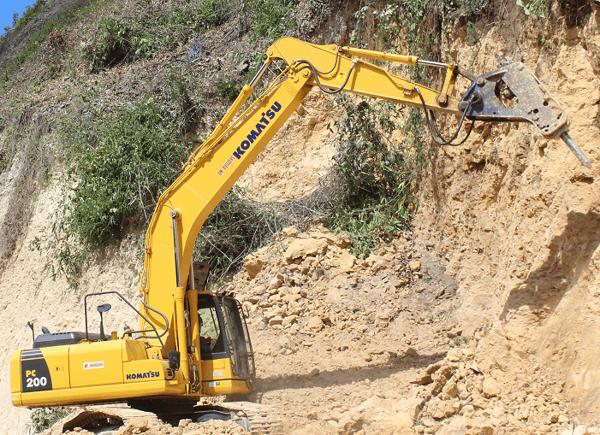 Komatsu PC200-8 Excavator