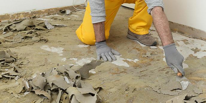 scraping-floor-adhesive