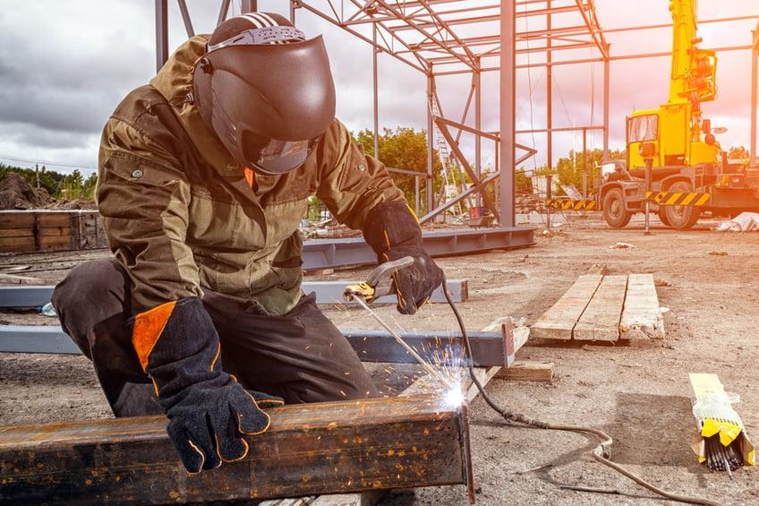 welding-steel-beem