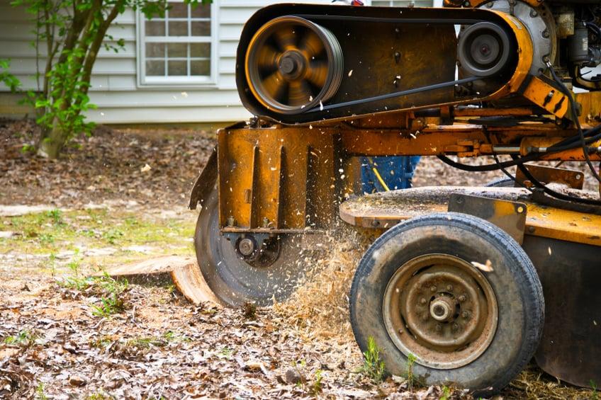tree-stump-removal-machine