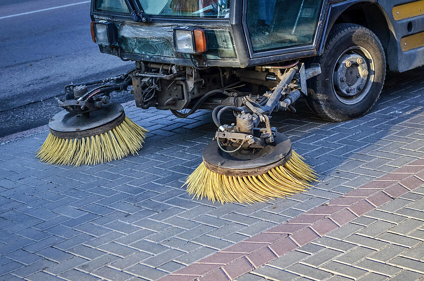 street sweeper hire