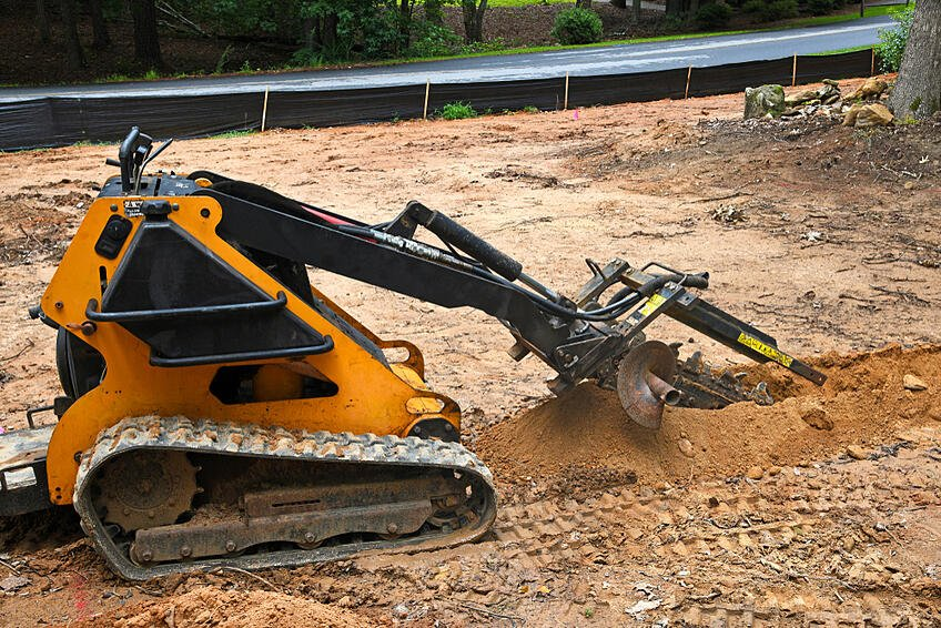 Complete Guide On Construction Machinery Equipment- trencher in construction