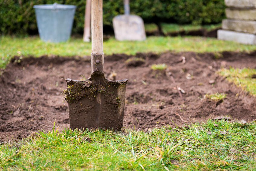 digging-up-lawn