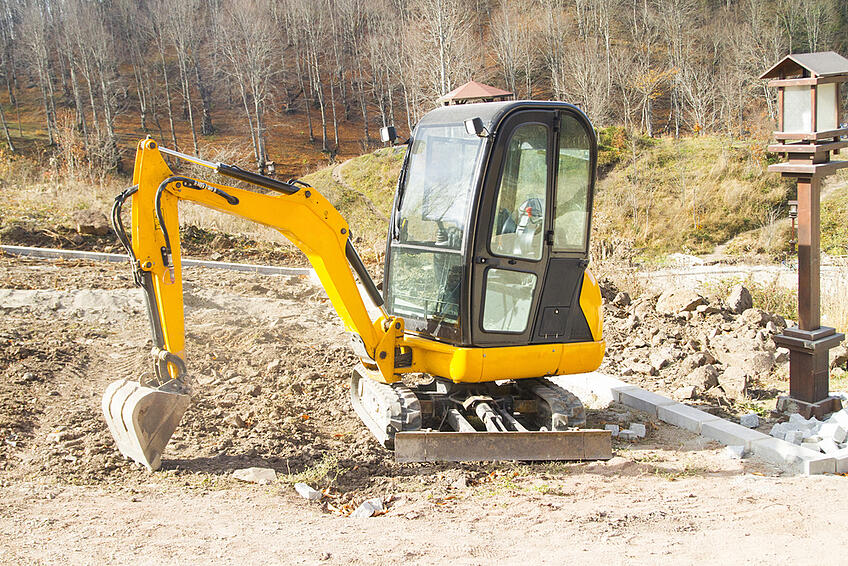 Mini Excavator Hire Rates