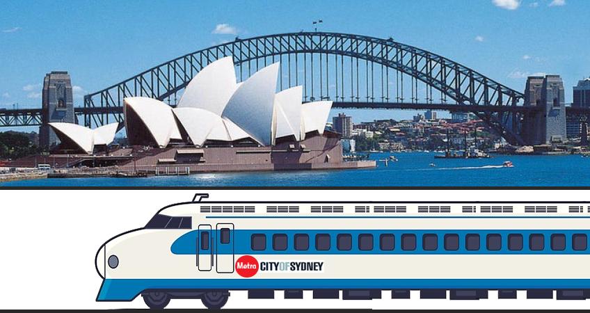 Sydney Harbour Tunnel Illustration
