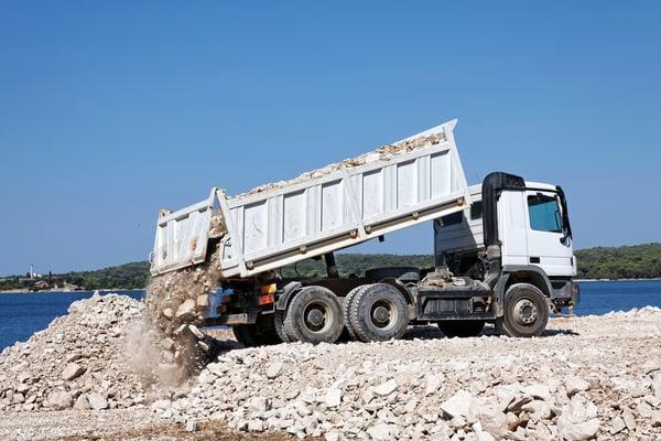 tipper truck hire