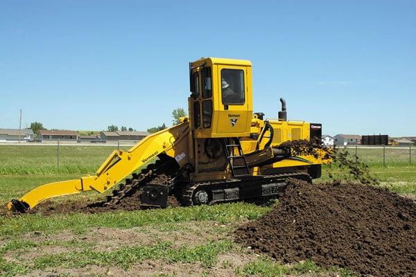 vermeer-t755-track-trencher