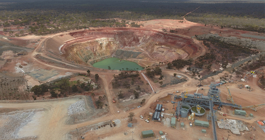 Lithium production facility in WA