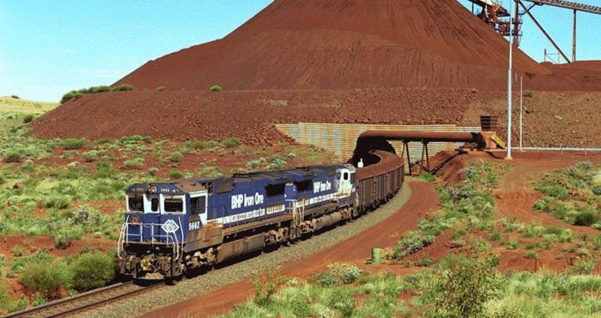 BHP's Yandi Mine