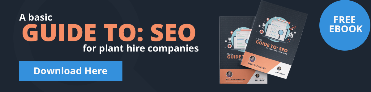 A Basic Guide to SEO for Plant Hire Companies