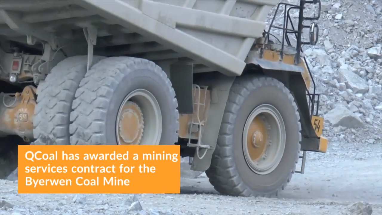 $350 Million Byerwen Coal Mine Mining Services Contract Has Been Awarded 0-0 screenshot