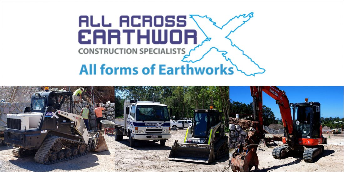 All Across Earthworks Banners