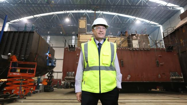 Bill-Shorten-Hard-Hat