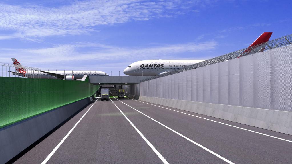 Brisbane-Airport-Construction