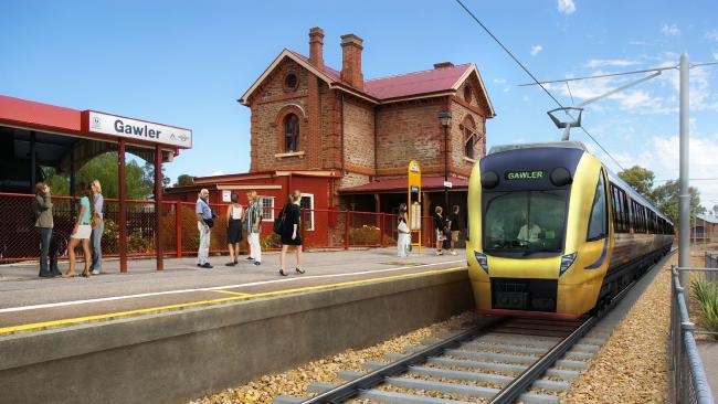 Gawler-Electrified-Train