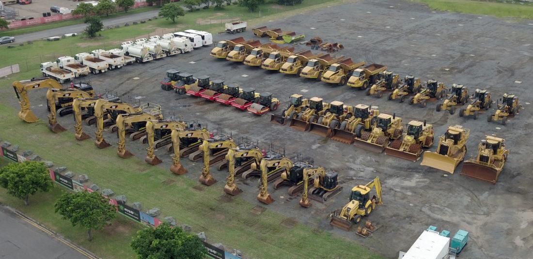 Huge Unreserved Ezyquip Hire Fleet Auction Hits GraysOnline