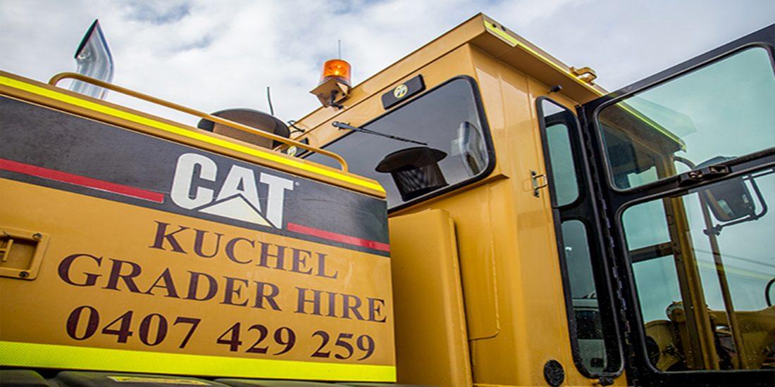 Kuchel-Grader-Hire Banner