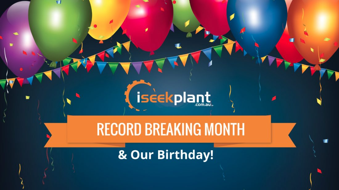 iSeekplant Record-Breaking Month