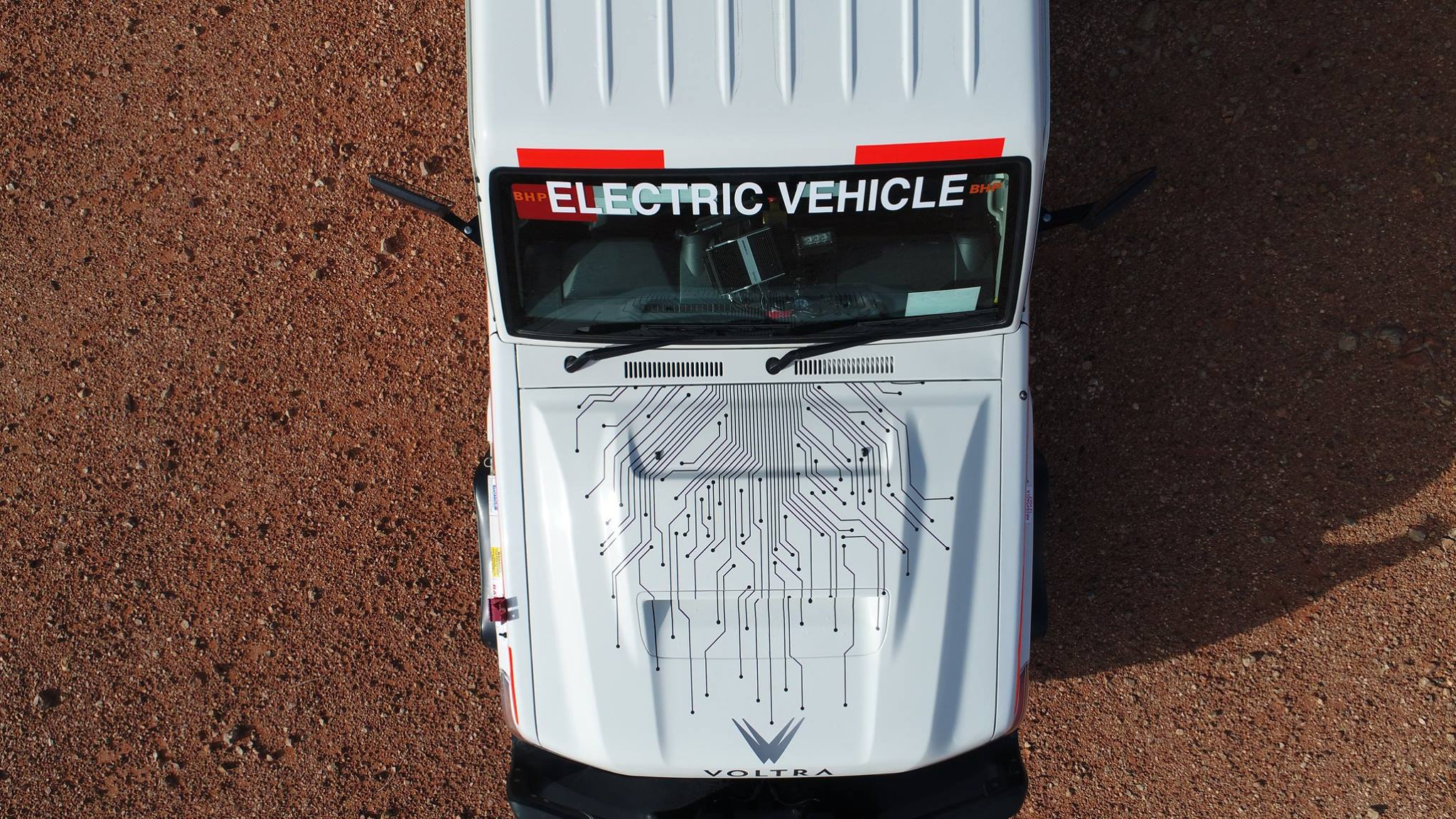 BHP electric ute
