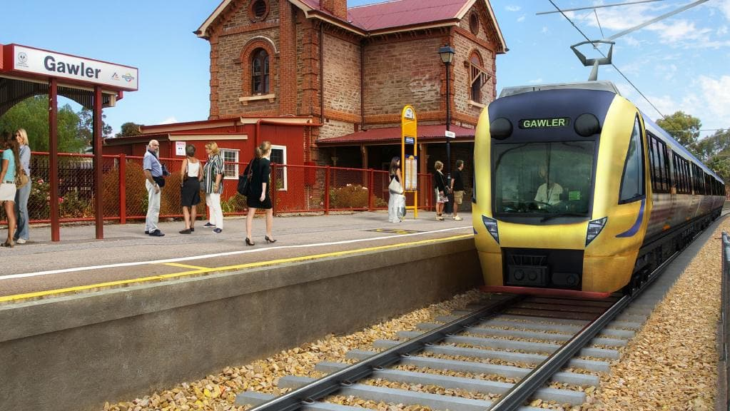 Gawler Rail Line Electrification-1
