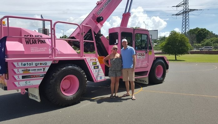 How COSA Cranes are Raising Money for Breast Cancer