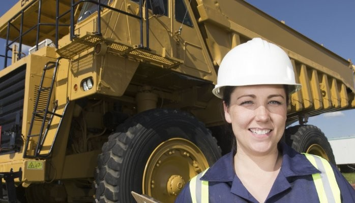 If you don't think mining and construction is women's work, you're wrong.