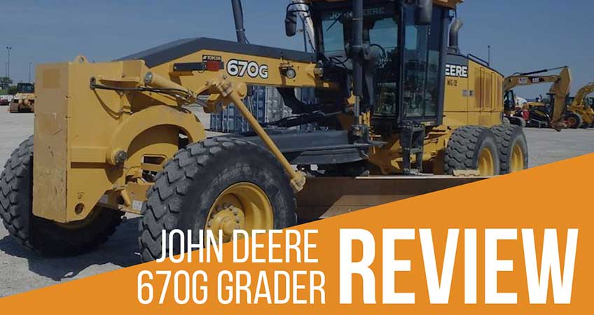 John Deere 670g Grader Review Specs