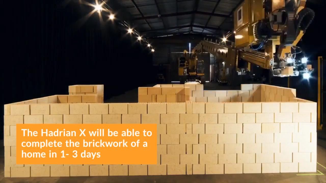 The Hadrian X Can Lay 1,000 Bricks an Hour 0-19 screenshot