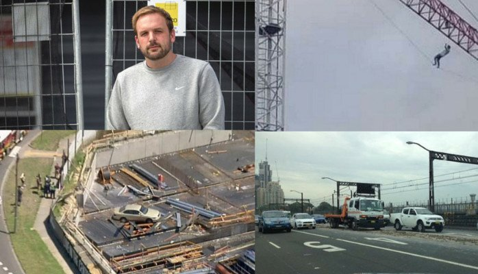 Weekly Round Up – Idiots Invading Construction Sites